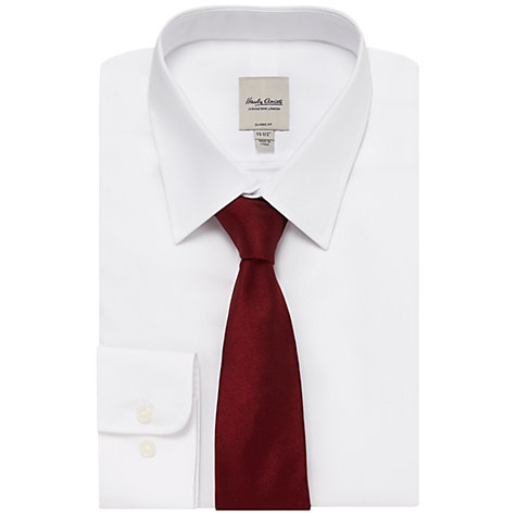 Buy Hardy Amies Woven Silk Twill Tie Online at johnlewis.com