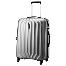 Buy Carlton Sonar 4-Wheel Large Suitcase, Silver Online at johnlewis.com