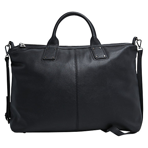 Buy Mango Shopper Bag, Black Online at johnlewis.com