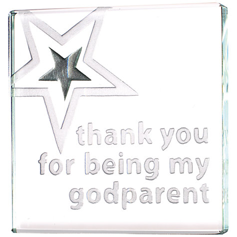 Buy Spaceform Mini Thank You Godparent Token Online at johnlewis.com