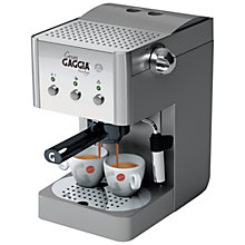 Buy Gaggia Gran Gaggia Prestige RI8327/01 Manual Espresso Coffee Machine, Stainless Steel Online at johnlewis.com