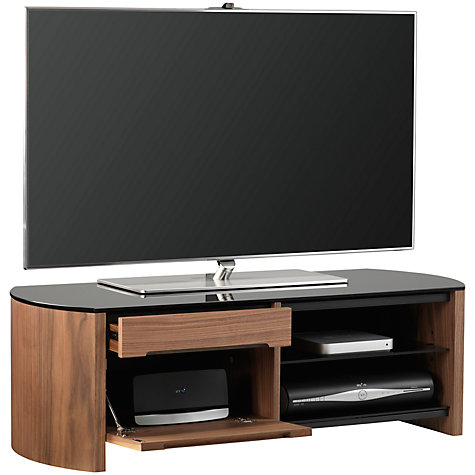 Buy Alphason Finewoods FW1100 TV Stand for up to 50-inch TVs, Walnut Online at johnlewis.com