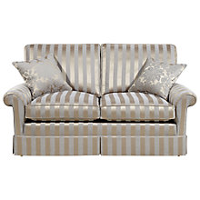 Buy Duresta Woburn Large Sofa, Oscar Silver Stripe Online at johnlewis.com
