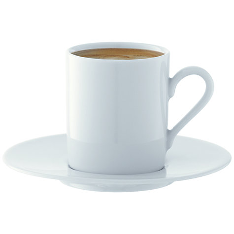 Buy LSA Dine Espresso Cups & Saucers, Set of 4 Online at johnlewis.com