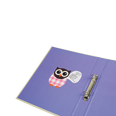 Buy Give A Hoot Ringbinder Online at johnlewis.com