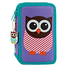 Buy Give A Hoot Pencil Case and Colouring Pencils Online at johnlewis.com