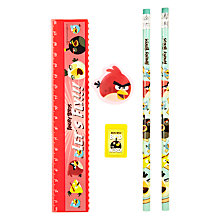 Buy Angry Birds Stationery Set Online at johnlewis.com