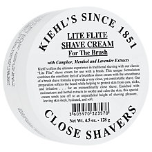 Buy Kiehl's Lite Flight Shave Cream, 128g Online at johnlewis.com