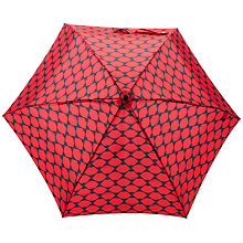 Buy Lulu Guinness Tiny Lips Umbrella, Red Online at johnlewis.com