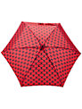 Lulu Guinness Tiny Lips Umbrella, Red