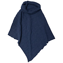 Buy Seasalt Tide Times Poncho, Granite Online at johnlewis.com