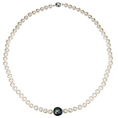 A B Davis Baroque River Pearl 18 Necklace