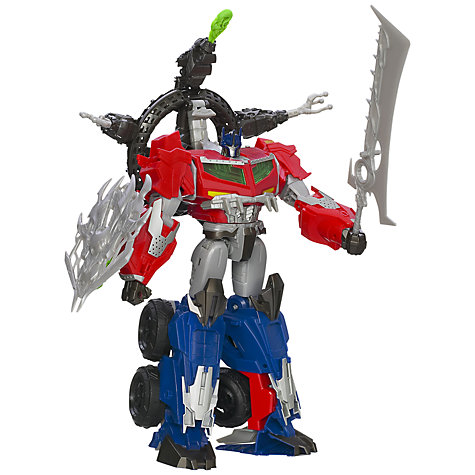 Buy Transformers Beast Hunter Optimus Prime Online at johnlewis.com