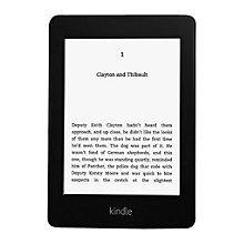 Buy New Amazon Kindle Paperwhite 3G eReader, Wi-Fi & 3G Online at johnlewis.com