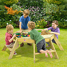 Buy Plum Octagonal Activity Table Online at johnlewis.com
