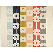 Buy Orla Kiely Giant Abacus Flower Throw Online at johnlewis.com