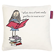 Buy Roald Dahl Matilda Square Cushion Online at johnlewis.com