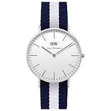 Buy Daniel Wellington Women's Classic Stainless Steel NATO Strap Watch Online at johnlewis.com
