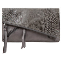Buy Mint Velvet Snake Effect Clutch Online at johnlewis.com