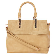 Buy Warehouse Two Tone Handbag Online at johnlewis.com