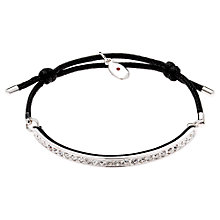 Buy Cachet London Swarovski Crystals Cord Friendship Bracelet Online at johnlewis.com