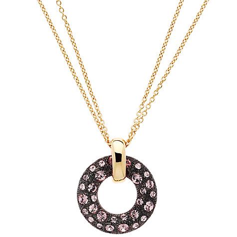 Buy Cachet London Jadine Rose Pendant, Gold Online at johnlewis.com