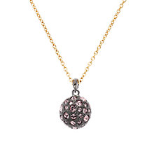 Buy Cachet London Ona Rose Ball Swarvoski Crystal Surround Pendant Online at johnlewis.com