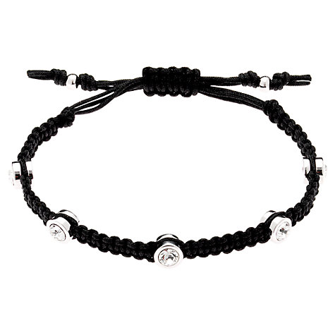 Buy Cachet London Solitaire Cord Friendship Bracelet Online at johnlewis.com