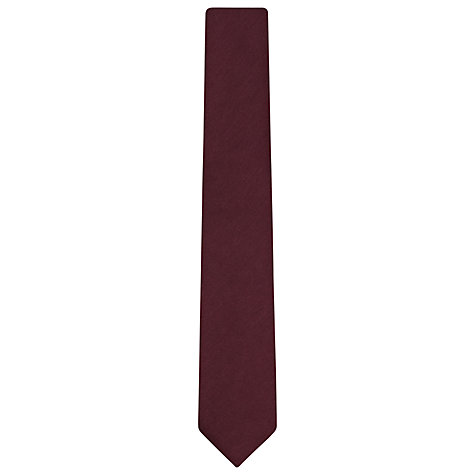 Buy Reiss Contra Plain Wool Tie Online at johnlewis.com