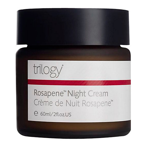 Buy Trilogy Rosapene™ Night Cream, 60ml Online at johnlewis.com