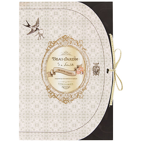 Buy Heathcote & Ivory Beau Jardin Citrus Grove Scented Drawer Liners, Pack of 5 Online at johnlewis.com