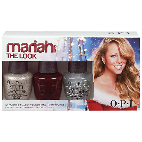 Buy OPI Nails Mariah Carey Collection The Look Set, 3 x 15ml Online at johnlewis.com