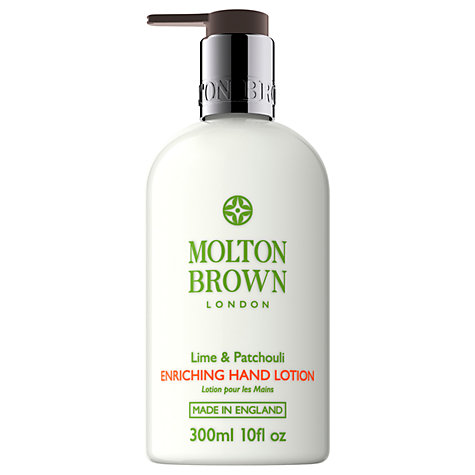 Buy Molton Brown Lime & Patchouli Enriching Hand Lotion, 300ml Online at johnlewis.com