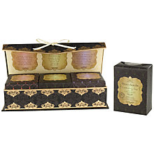 Buy Heathcote & Ivory Beau Jardin Soap Collection, 3 x 125g Online at johnlewis.com