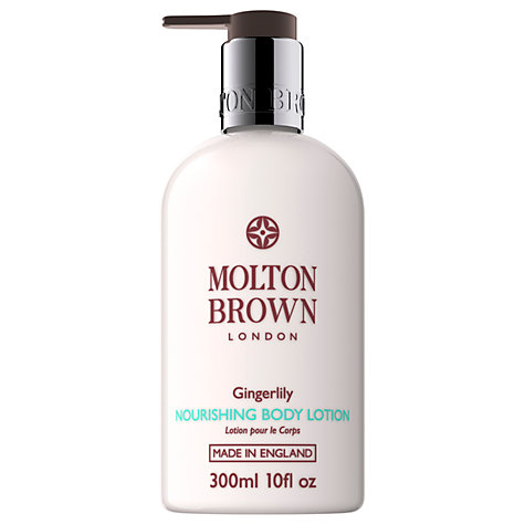 Buy Molton Brown Gingerlily Nourishing Body Lotion, 300ml Online at johnlewis.com