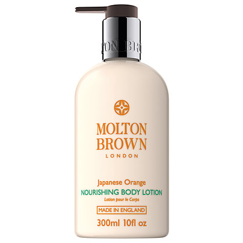 Buy Molton Brown Japanese Orange Nourishing Body Lotion, 300ml Online at johnlewis.com