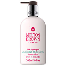 Buy Molton Brown Pink Pepperpod Nourishing Body Lotion, 300ml Online at johnlewis.com