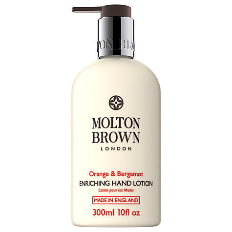 Buy Molton Brown Orange & Bergamot Enriching Hand Lotion, 300ml Online at johnlewis.com