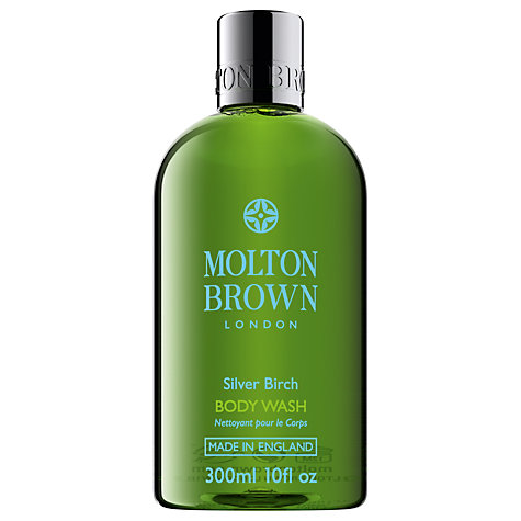 Buy Molton Brown Silver Birch Body Wash, 300ml Online at johnlewis.com