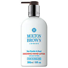 Buy Molton Brown Rok Radish & Basil Enriching Hand Lotion, 300ml Online at johnlewis.com