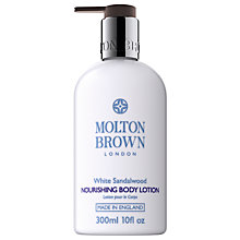 Buy Molton Brown White Sandalwood Nourishing Body Lotion, 300ml Online at johnlewis.com