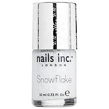 Buy Nails Inc. Snowflake Effect Nail Polish, Kensington Church Street Online at johnlewis.com