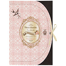 Buy Heathcote & Ivory Beau Jardin Rose & Geranium Scented Drawer Liners, Pack of 5 Online at johnlewis.com
