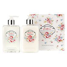 Buy Cath Kidston Blossom Hand Wash & Hand Lotion Set, 2 x 300ml Online at johnlewis.com