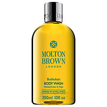Buy Molton Brown Bushukan Body Wash, 300ml Online at johnlewis.com