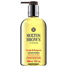 Buy Molton Brown Orange & Bergamot Hand Wash, 300ml Online at johnlewis.com