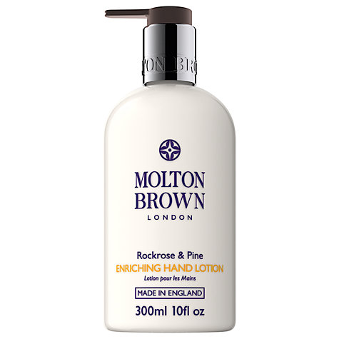 Buy Molton Brown Rockrose & Pine Enriching Hand Lotion, 300ml Online at johnlewis.com
