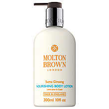 Buy Molton Brown Suma Ginseng Nourishing Body Lotion, 300ml Online at johnlewis.com