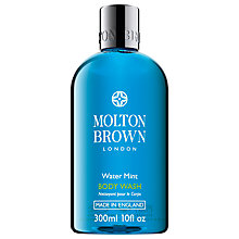 Buy Molton Brown Water Mint Body Wash, 300ml Online at johnlewis.com