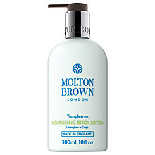 Buy Molton Brown Templetree Nourishing Body Lotion, 300ml Online at johnlewis.com